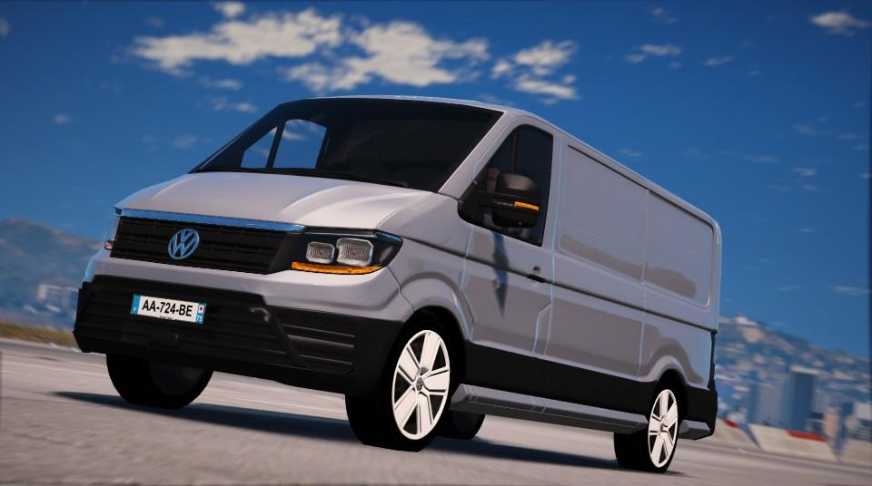 volkswagen crafter 2017 add on gta5. Black Bedroom Furniture Sets. Home Design Ideas
