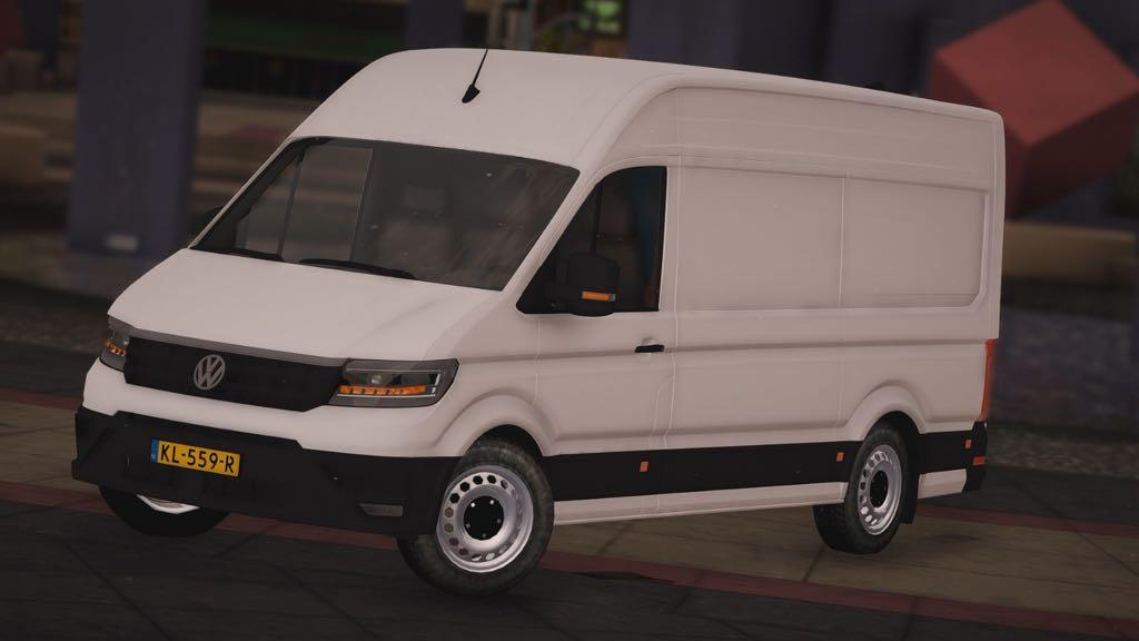 volkswagen crafter 2017 replace gta5. Black Bedroom Furniture Sets. Home Design Ideas