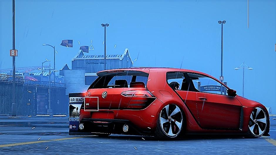 Volkswagen Golf Mk7 GTI Vision Design [Add-On / Replace] - GTA5-Mods.com