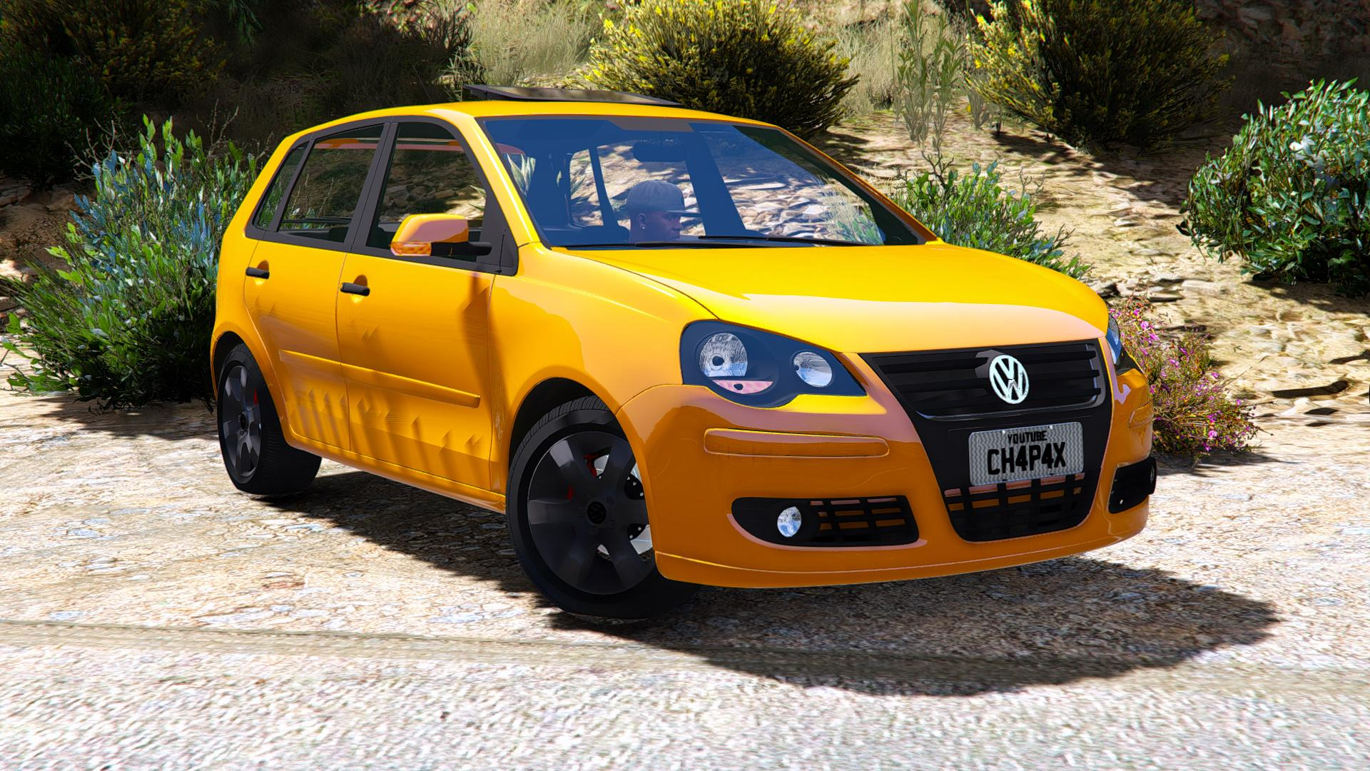 volkswagen polo 2008 hatch stock add on replace gta5. Black Bedroom Furniture Sets. Home Design Ideas