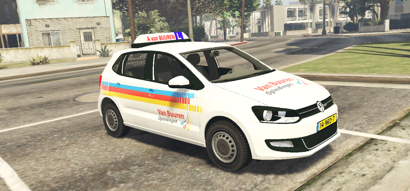 volkswagen polo rijsschool van buuren gta5. Black Bedroom Furniture Sets. Home Design Ideas