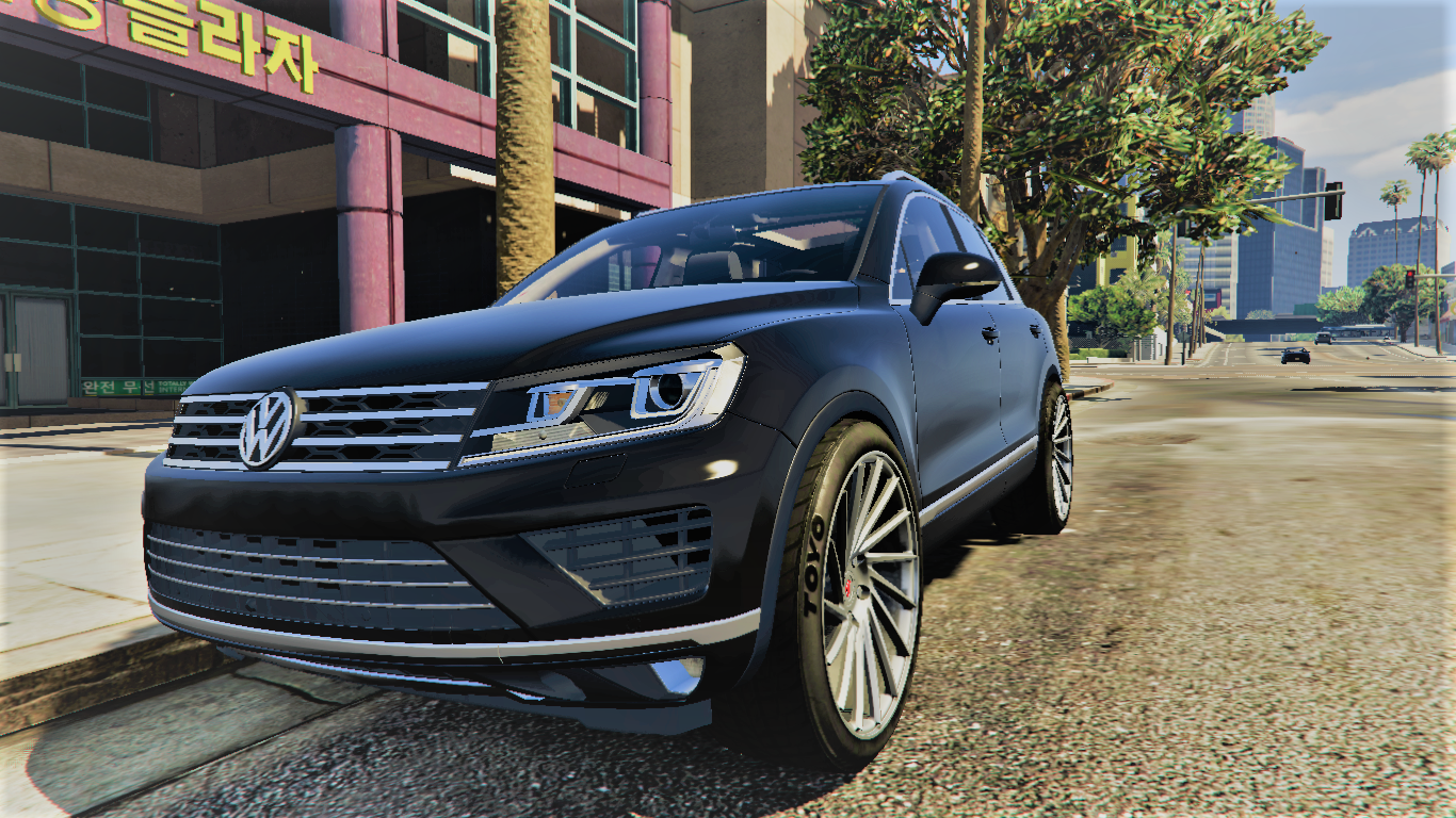 volkswagen touareg v10 tdi add on handling gta5. Black Bedroom Furniture Sets. Home Design Ideas