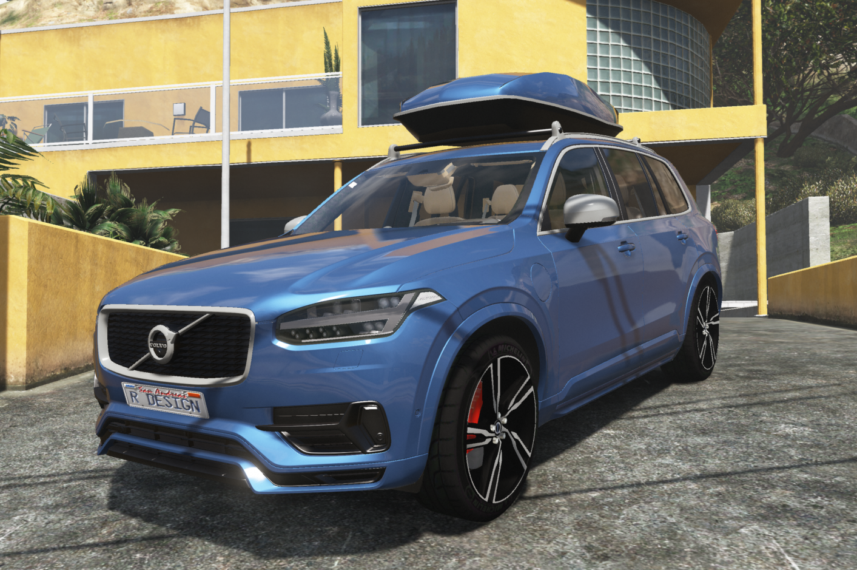 Volvo Xc90 T8 R Design 2017 Add On Trailer Gta5 Mods Com