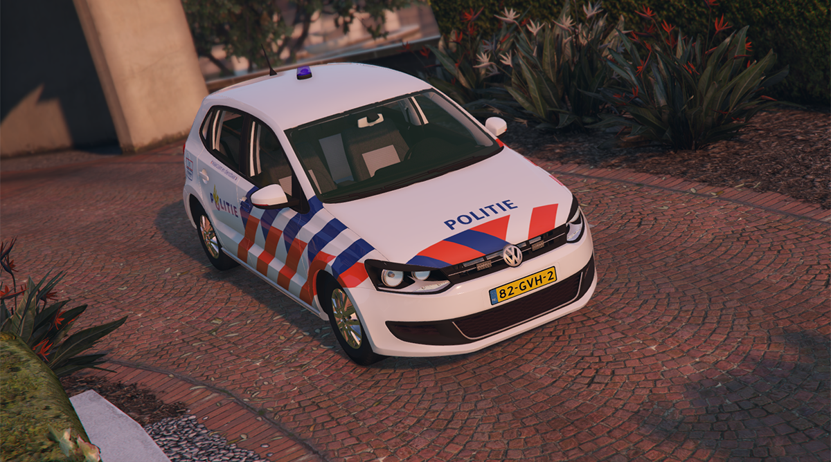 volkswagen polo 6 politie gta5. Black Bedroom Furniture Sets. Home Design Ideas