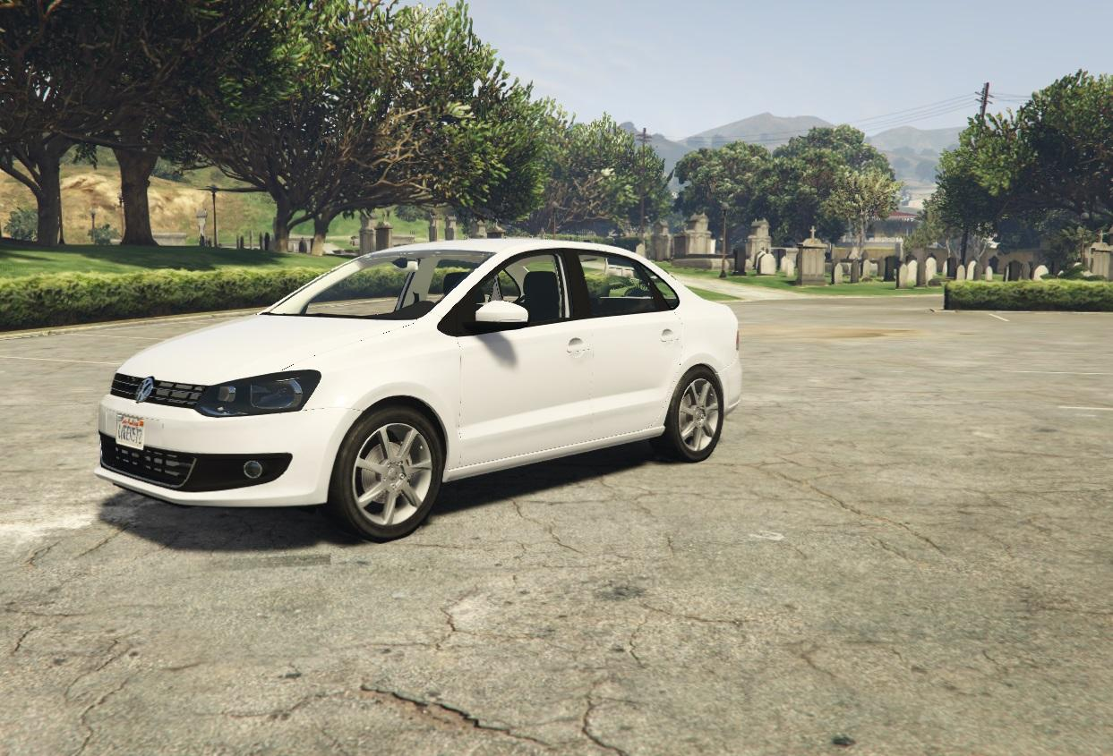 volkswagen polo sedan tuning gta5. Black Bedroom Furniture Sets. Home Design Ideas
