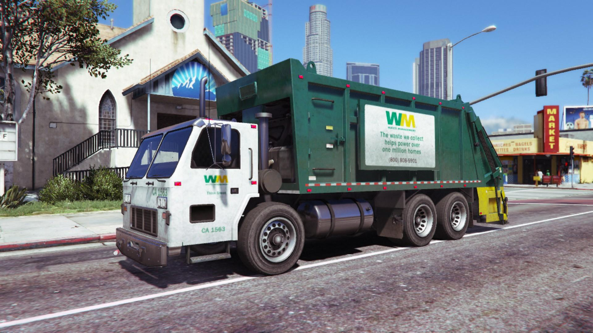WM Waste Magement Livery - GTA5-Mods.com
