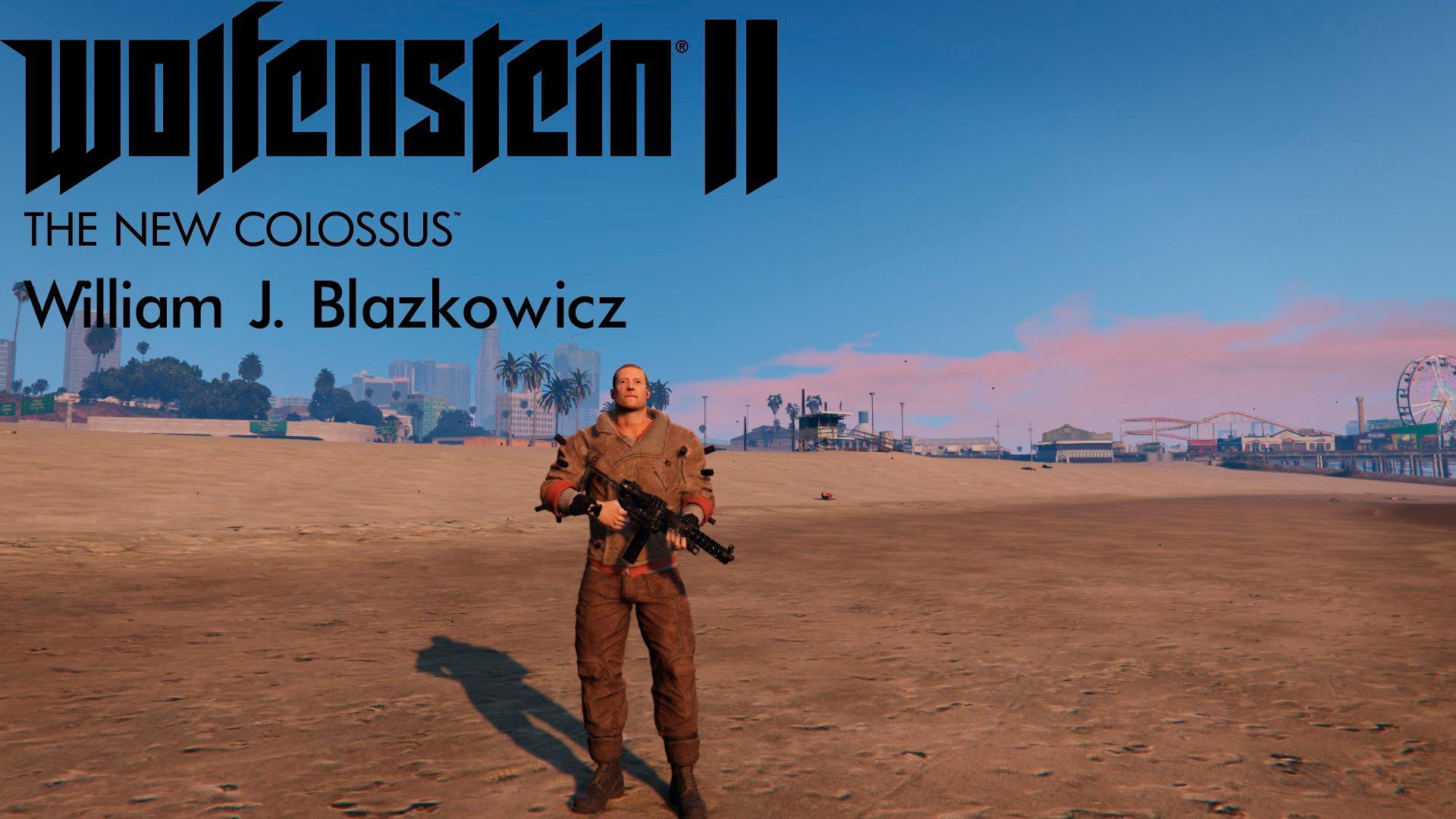 Wolfenstein Ii The New Colossus William J Blazkowicz