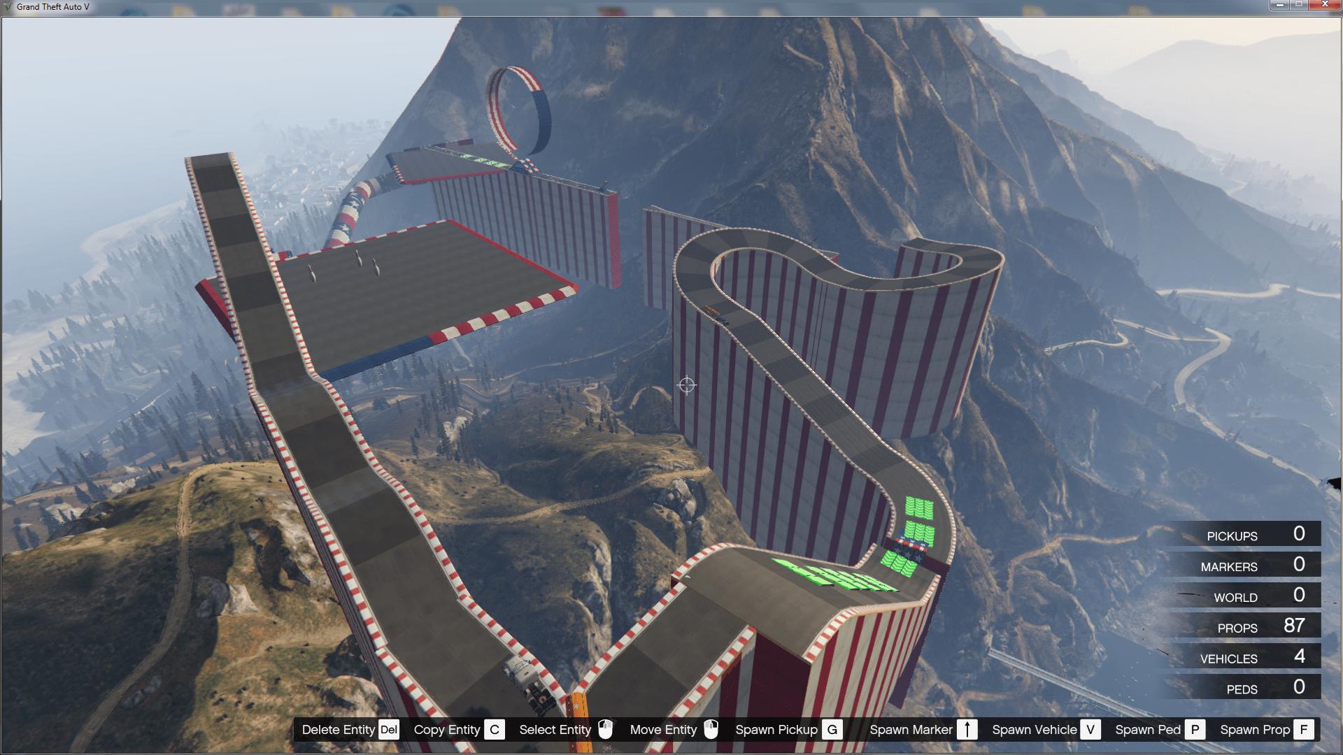 gta 5 stunt race how to jump