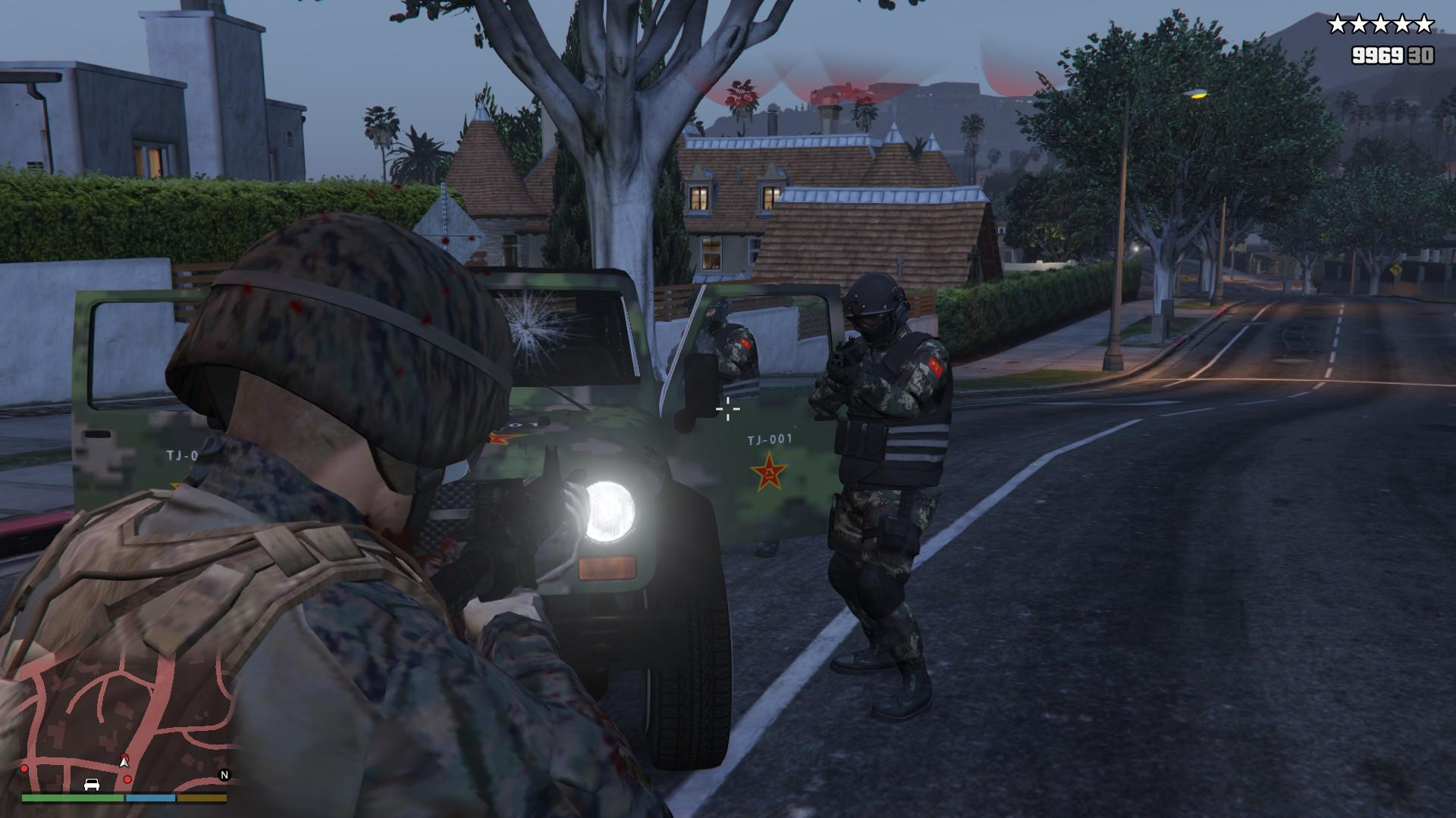 chinese peoples liberation army pack gta5modscom