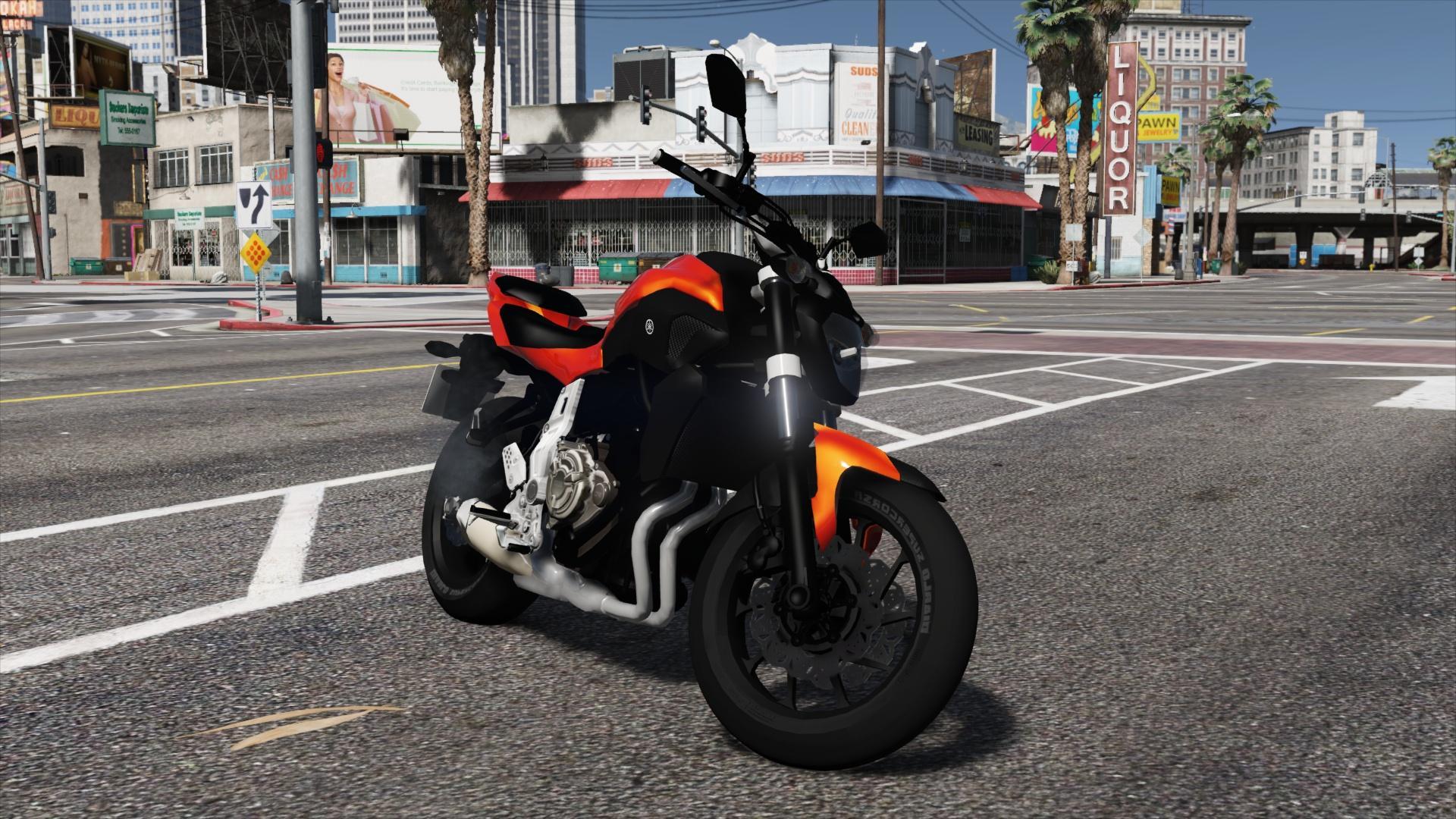 Yamaha Fz Mods