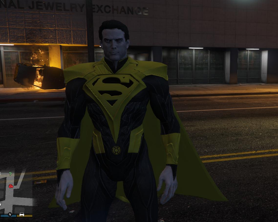 yellow lantern superman - HD1138×910