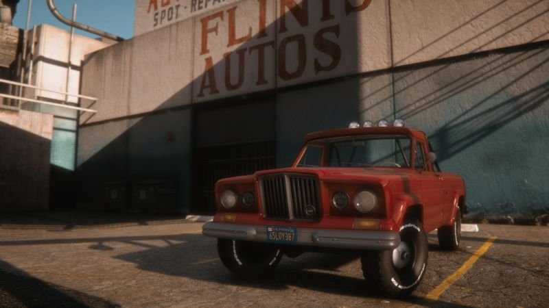 1965 Jeep Gladiator J-200 [Add-On | Replace | Extras