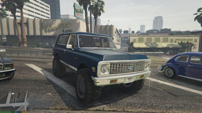 1971 Chevrolet Blazer Add On Replace Gta5 Mods