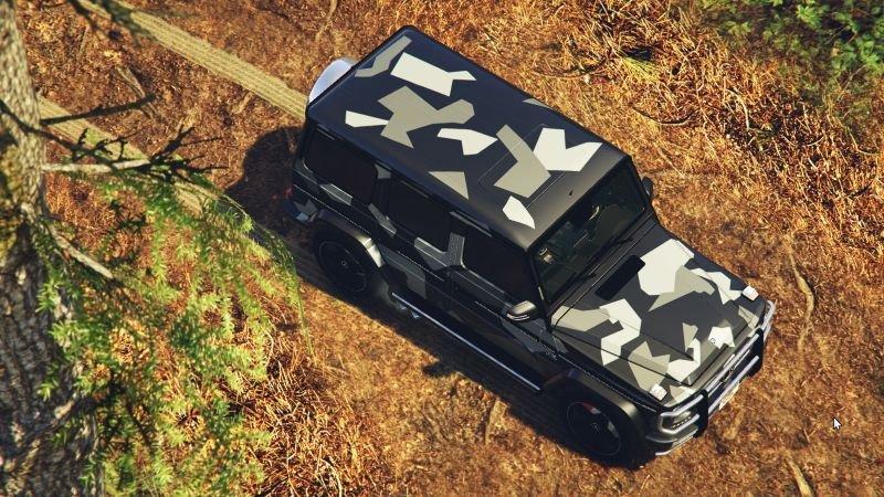 2c57f1 mercedes benz g65 amg 2013 smokey   north rhine camouflage1