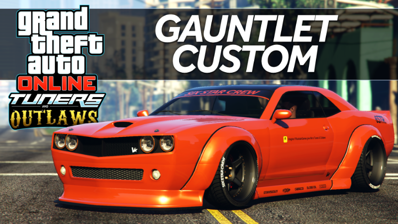 77d557 gta 5 widebody 6str gauntlet custom car mods