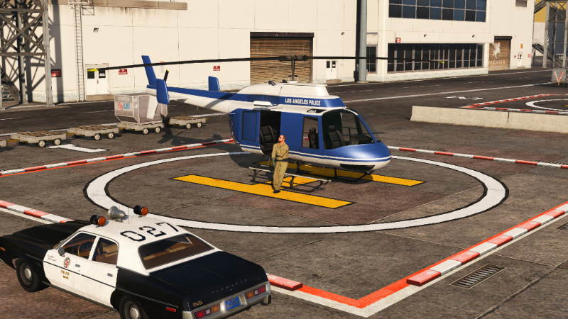 70s Lapd Helicopter Gta5 Mods Com