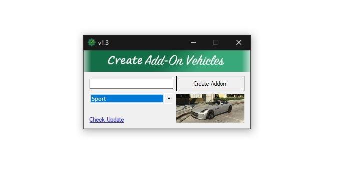 2d6af6 create addon vehicles