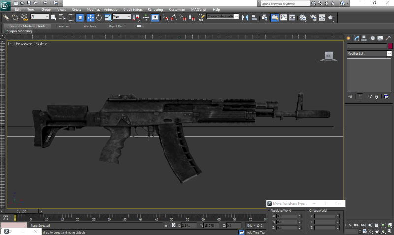 46979f ak 12 in 3ds max