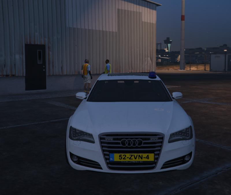 Audi A8L Airport Security