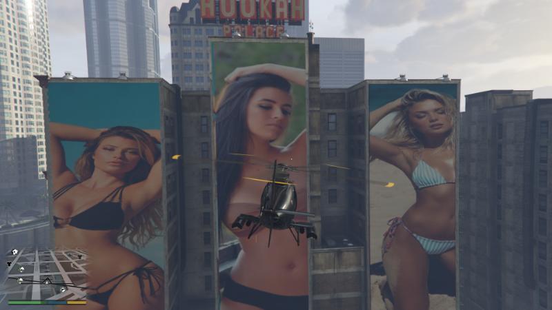 313072 bikini model posters 4