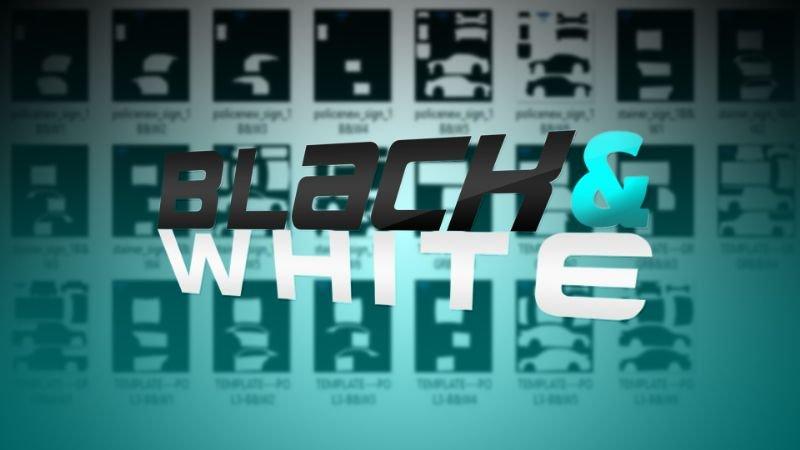 D8ab40 black&white