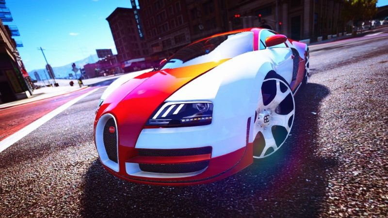 Bugatti Veyron Add On Replace Tuning Gta5 Mods Com