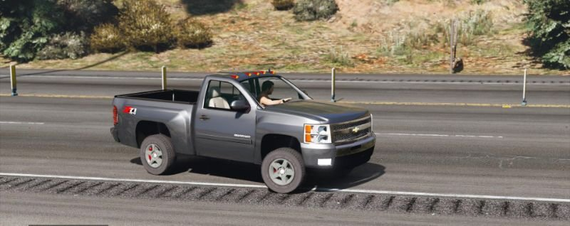 Chevrolet Silverado 1500 LTZ Regular Cab 4x4 2013 [Add-On ...