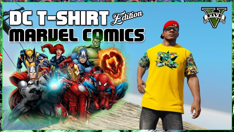 DC T-Shirt ''Marvel Comics'' Edition For Franklin [#1 ...