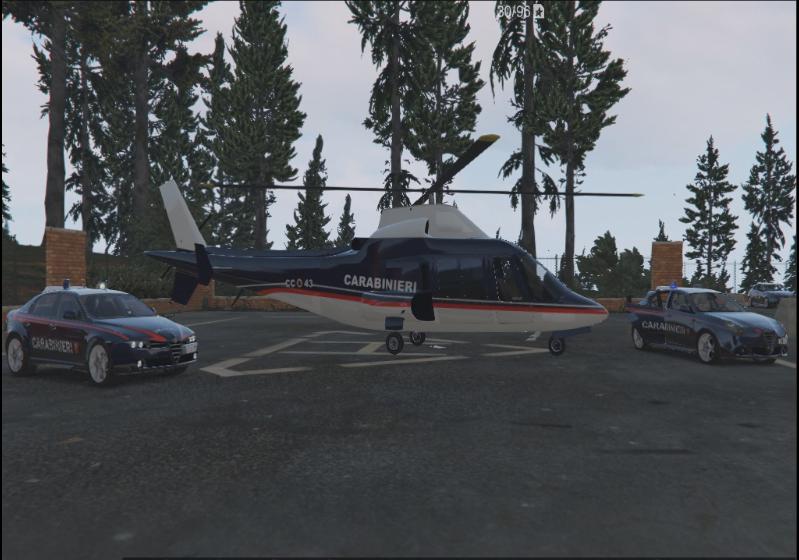 Elicottero Gta 5 : Elicottero helicopter swift carabinieri italian police