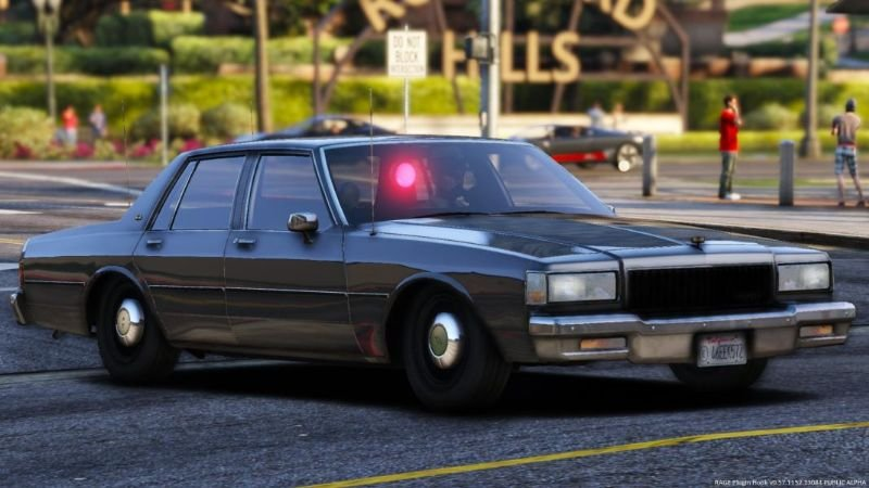 Els 1988 Chevrolet Caprice 9c1 Unmarked Los Angeles