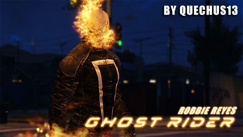 Ghost Rider (Robbie Reyes) [Add-On] - GTA5-Mods com