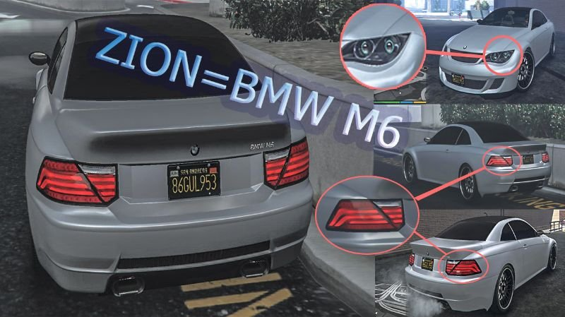 7584b7 bmw m6