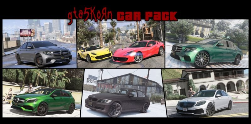 Edae62 gta5korn carpack 1.2 — 5mods