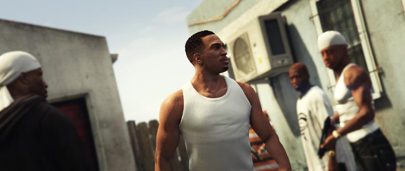 D Grand Theft Auto V Screenshot