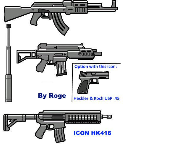 Roge's Weapon Icon Pack