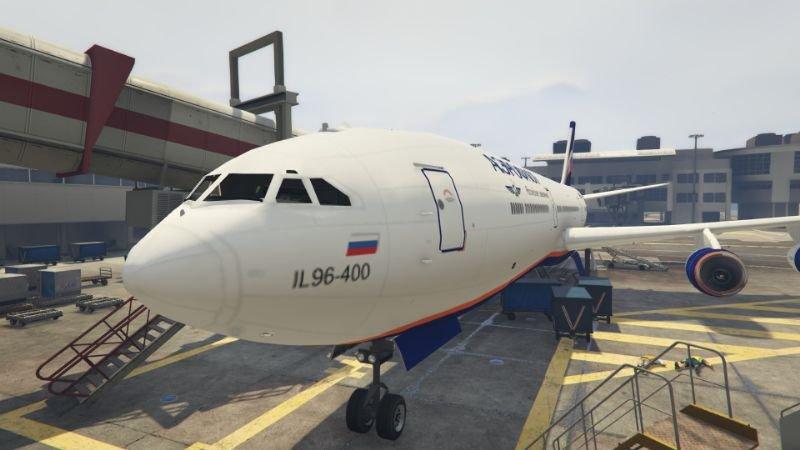 ilyushin il96-400 Ильюшин Ил96-400 ADD-ON [REPLACE ...