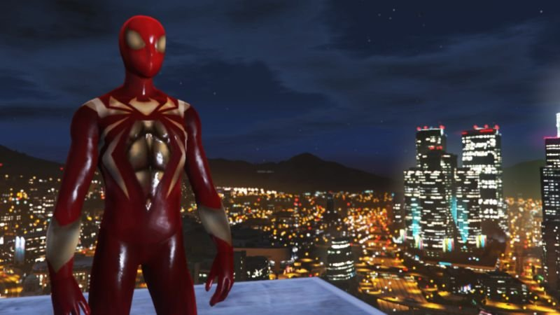 136199 new screen ironspider 3