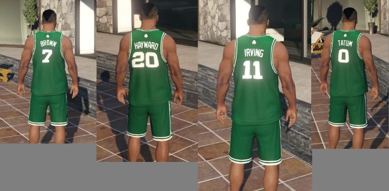 Boston Celtics NBA Jerseys, Shorts, Hoodie, T-shirts, and ...