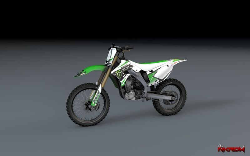 E18bcd kawasaki kx monster energy limit ediition0000