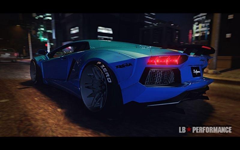 Lamborghini Aventador Lp700 4 Libertywalk Gta5 Mods Com