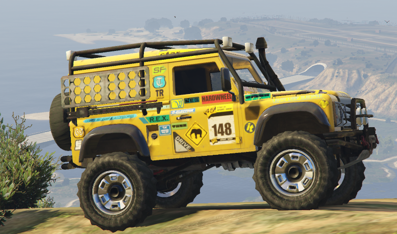 Land Rover Defender 90 Add On Replace Gta5 Mods Com
