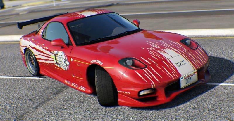 Dominic Toretto S Red Car Gta