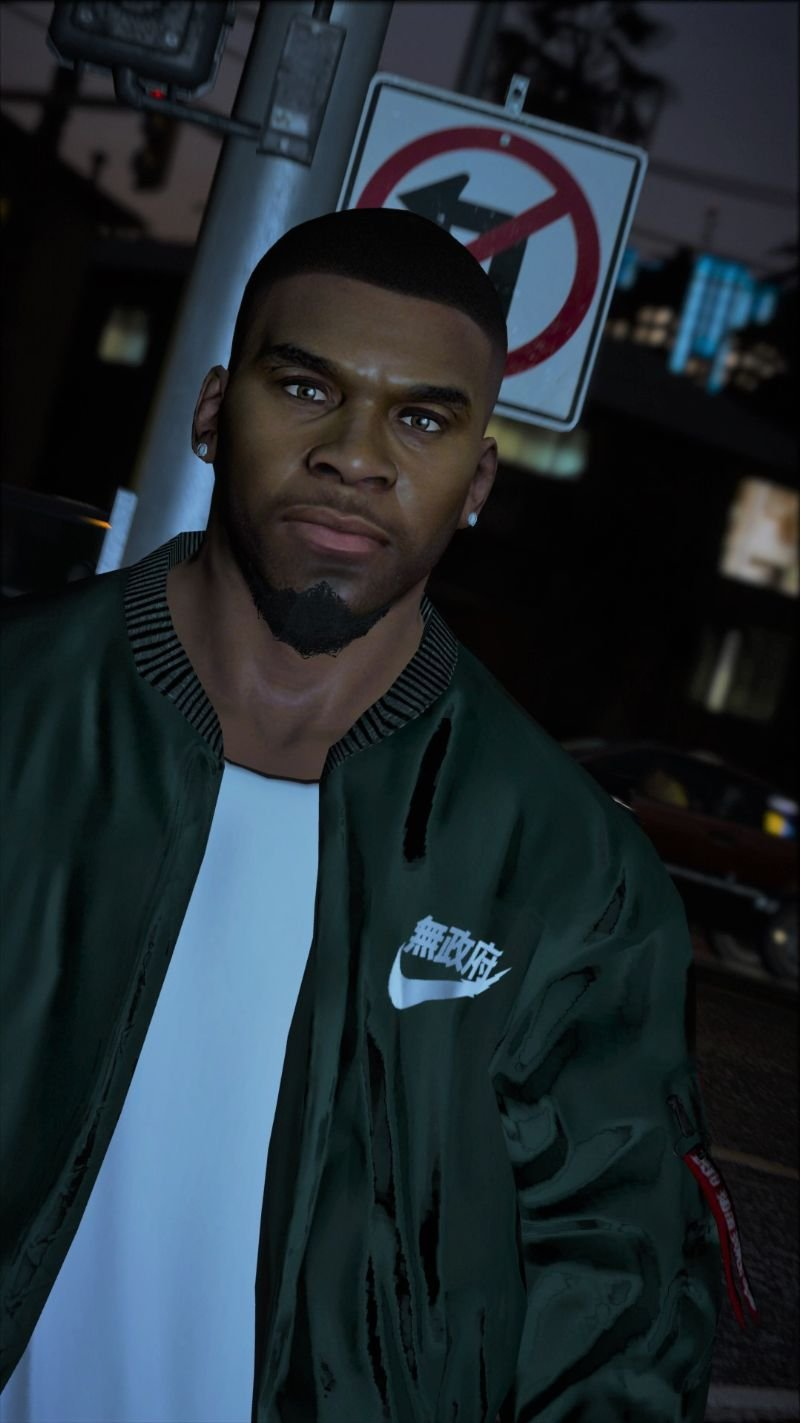 Franklins New Face (V3 Update) | Tattoo Preview - GTA5