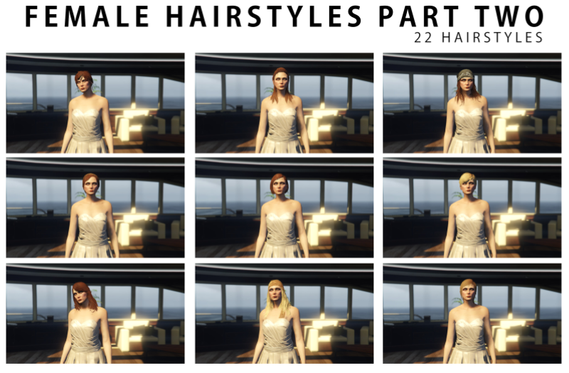 83e693 hairstyle compilation 2