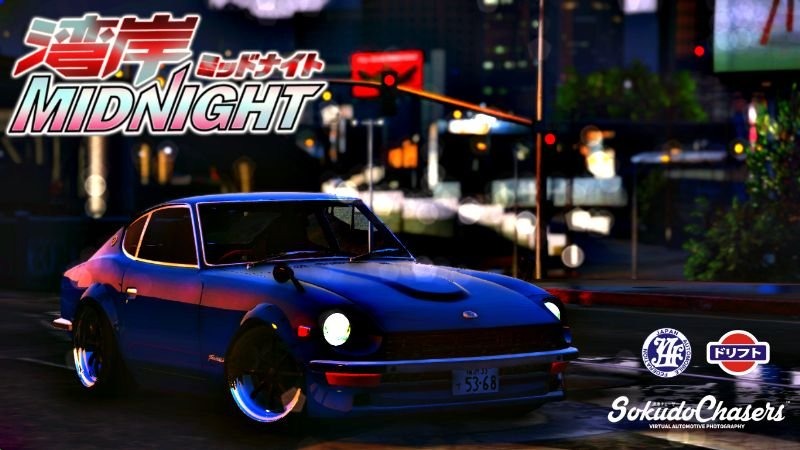 Nissan S30z Wangan Midnight Devil Z Add On Replace