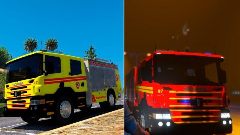 F59129 firetruck