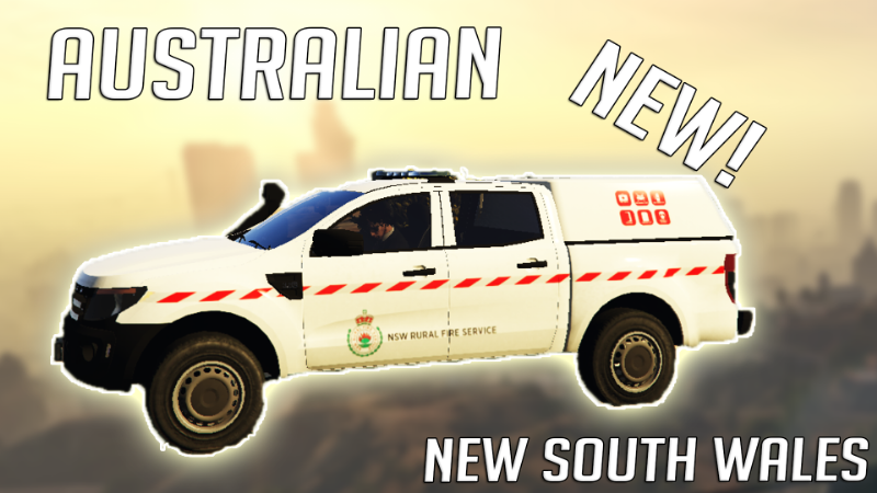 F24bc6 nsw rural fire service ford ranger ute
