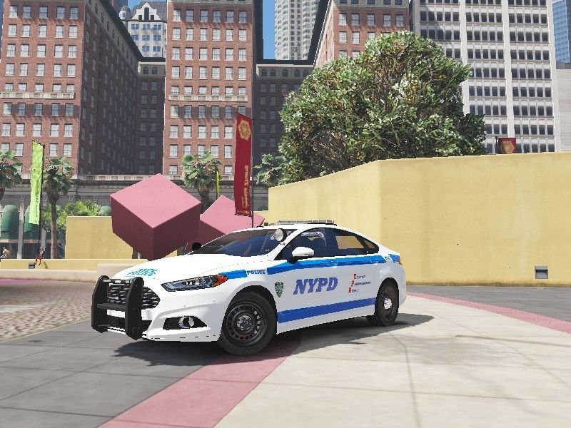 Ford Fusion Mods >> Nypd Ford Fusion Hybrid Texture Gta5 Mods Com