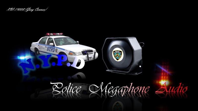 F69801 nypdpolicemegaphone