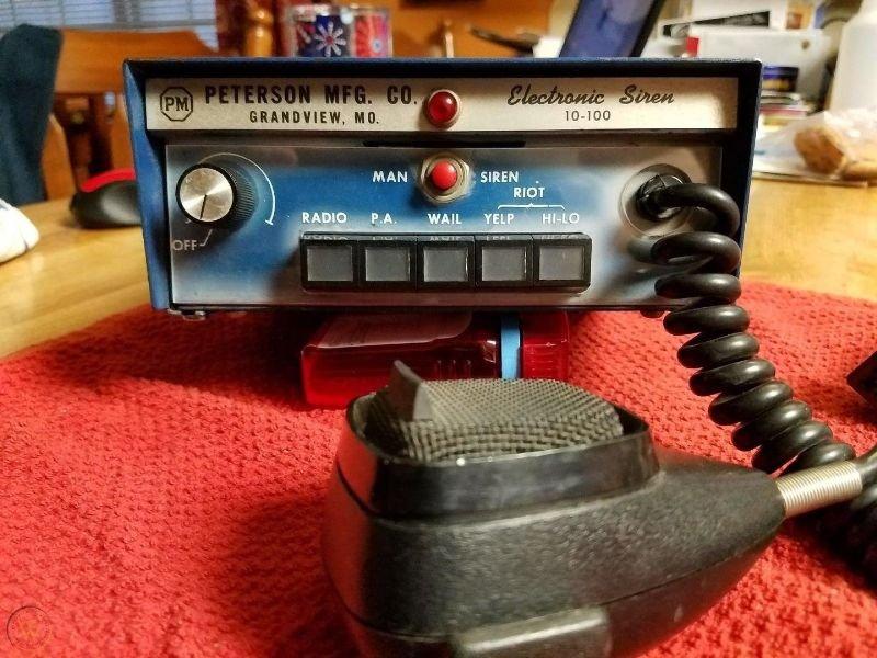 Ea35d3 vintage peterson mfg 1970s 100w siren 1 e7e7c3f4ba0aaa99d3f83b6c1ba2a575